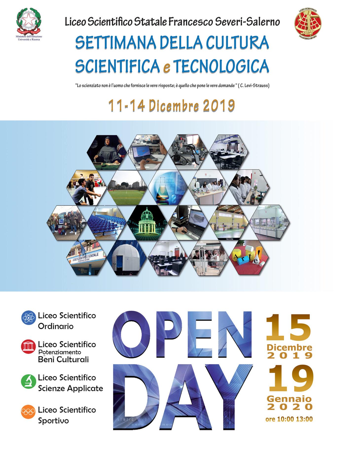 Open Day 11-14 Dicembre 2019